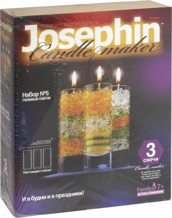 Иллюстрация 1 из 4 для Гелевые свечи. Набор №5 (274005) | Лабиринт - игрушки. Источник: Лабиринт