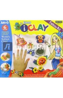 Глина для моделирования 6 цветов I Clay /21636