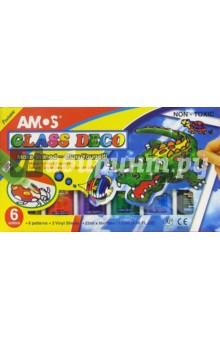 Набор для детского творчества 8 предметов AMOS /18692 (подарочная картонная упаковка)
