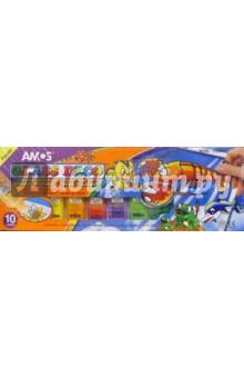 Набор для детского творчества 12 предметов AMOS /19849 (подарочная картонная упаковка)