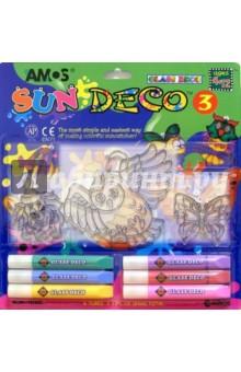 Набор для детского творчества 9 предметов AMOS /21634 (в блистере)
