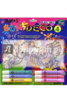 Набор для детского творчества 8 предметов AMOS /18693 (в блистере)