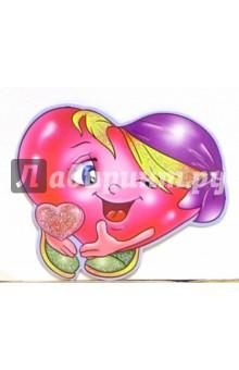 7Т-040/мини-открытка сердечко