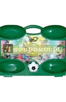 Настольная игра Totalfootball (Тотальный Футбол) / подарочная упаковка, в пластиковом чемодане
