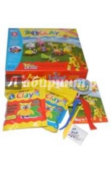 Глина для моделирования 6 цветов I Clay /22153 ( картонная упаковка)