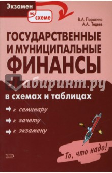Государственные и муниципальные финансы в схемах и таблицах - Парыгина, Тедеев