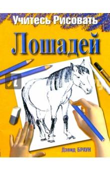 Учитесь рисовать лошадей - Дэвид Браун изображение обложки