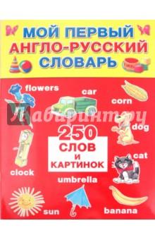 Мой первый англо-русский словарь: 250 слов и картинок - Жабцев, Степанов