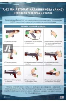 Таблица. Неполная разборка и сборка 7.62 автомата Калашникова - Миронов, Миронов