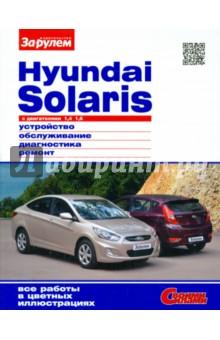 Hyundai Solaris с двигателями 1,4; 1,6. Устройство, обслуживание, диагностика, ремонт изображение обложки