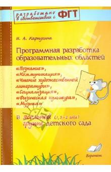 Программная разработка образовательных областей Познание, Коммуникация и др. в ясельной группе - Наталия Карпухина