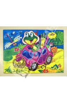 Купить Пазлы в рамке Черепаха-такси . 12 деталей (8050 ZV2) ISBN: 59074666511023