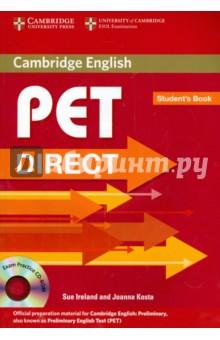 PET Direct. Student's Book (+CD) - Ireland, Kosta