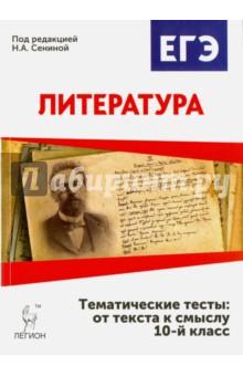 Книжка по российской литературе за 10 класс