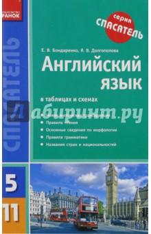 Английский язык в таблицах и схемах. 5-11 классы - Бондаренко, Долгополова