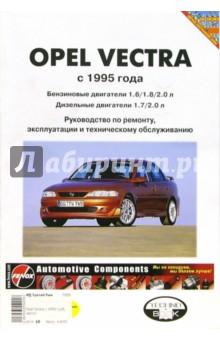 Opel Vectra 1988 -1995 года выпуска: Руководство (чернро-белые, цветные схемы)