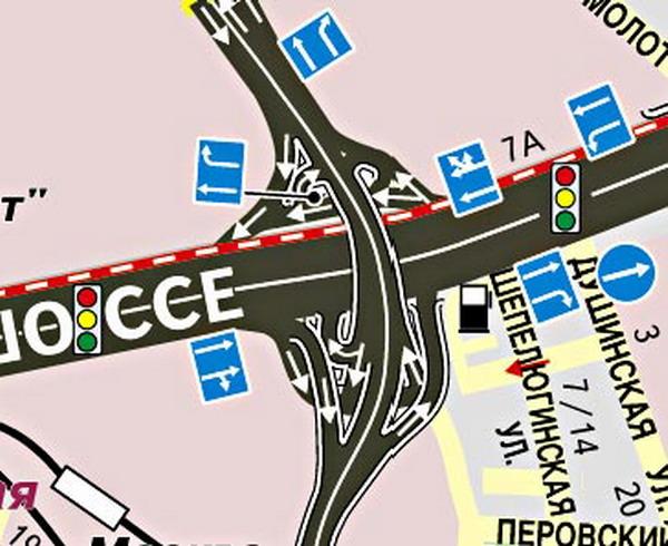 Иллюстрация 1 из 2 для Авто Атлас Москвы с дорожными знаками (малый) | Лабиринт - книги. Источник: Лабиринт