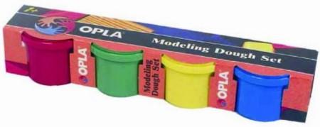 Иллюстрация 1 из 8 для Пластилин (моделин) 4 цвета в картонной упаковке (81040206) | Лабиринт - игрушки. Источник: Лабиринт