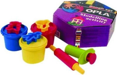 "Иллюстрация 1 из 2 для Пластилин (моделин) ""Тесто"" (81041200) | Лабиринт - игрушки. Источник: Лабиринт"
