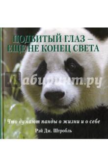 Подбитый глаз - еще не конец света. Что думают панды о жизни и о себе
