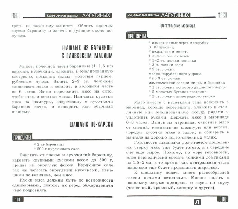 Иллюстрация 1 из 32 для Мясо. Сборник кулинарных рецептов - Лагутина, Лагутина   Лабиринт - книги. Источник: Лабиринт