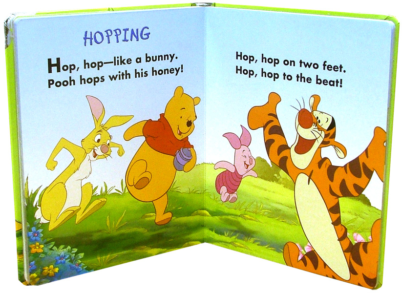 Иллюстрация 1 из 2 для Pooh and Friends Exercise (+ CD) | Лабиринт - книги. Источник: Лабиринт