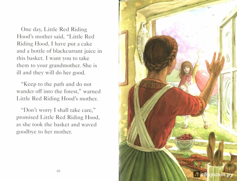 Иллюстрация 1 из 19 для Little Red Riding Hood | Лабиринт - книги. Источник: Лабиринт