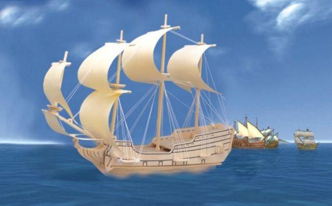 Иллюстрация 1 из 7 для Военный корабль Орел | Лабиринт - игрушки. Источник: Лабиринт