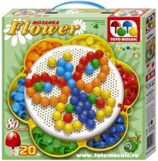 Иллюстрация 1 из 8 для Мозаика 80 элементов | Лабиринт - игрушки. Источник: Лабиринт