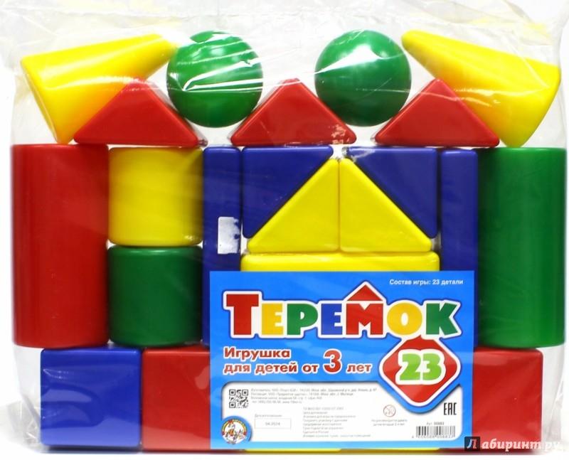 Иллюстрация 1 из 34 для Игра/00883/Теремок (23 элемента) | Лабиринт - игрушки. Источник: Лабиринт
