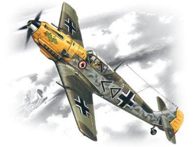 Иллюстрация 1 из 2 для Bf 109E-4 Мессершмитт (72132) | Лабиринт - игрушки. Источник: Лабиринт