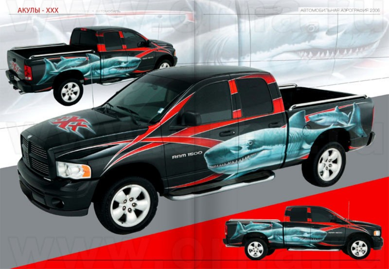 Иллюстрация 1 из 2 для Автомобильная аэрография: Современное визуальное искусство на автомобилях. 2006 год | Лабиринт - книги. Источник: Лабиринт