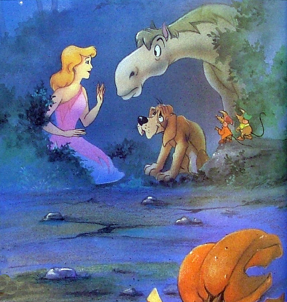 Иллюстрация 1 из 2 для Disney: Cinderella (Золушка). На английском языке | Лабиринт - книги. Источник: Лабиринт