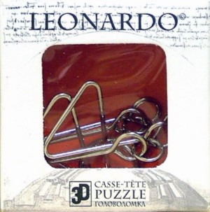 Иллюстрация 1 из 2 для Мини-головоломка / Leonardo Mini Wire 7 (476476) | Лабиринт - игрушки. Источник: Лабиринт