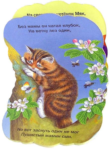 Иллюстрация 1 из 10 для Пушистые мордочки. Котенок ищет маму | Лабиринт - книги. Источник: Лабиринт