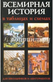 Всемирная история в таблицах и схемах