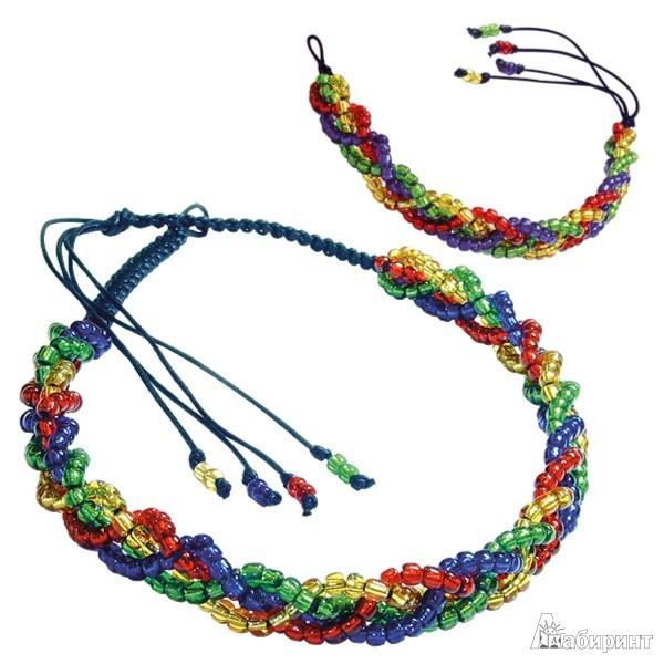 Иллюстрация 1 из 6 для Клео: Набор для изготовления украшений (ожерелье+браслет) АА 04-049   Лабиринт - игрушки. Источник: Лабиринт