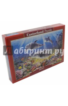 """Puzzle-500 """"Дельфины"""" (В-51014)"""