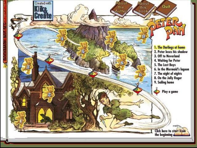 Иллюстрация 1 из 5 для Питер Пэн (CDpc)   Лабиринт - софт. Источник: Лабиринт