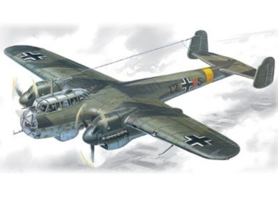 Иллюстрация 1 из 2 для Do 215B-4 германский самолет-разведчик (72301) | Лабиринт - игрушки. Источник: Лабиринт