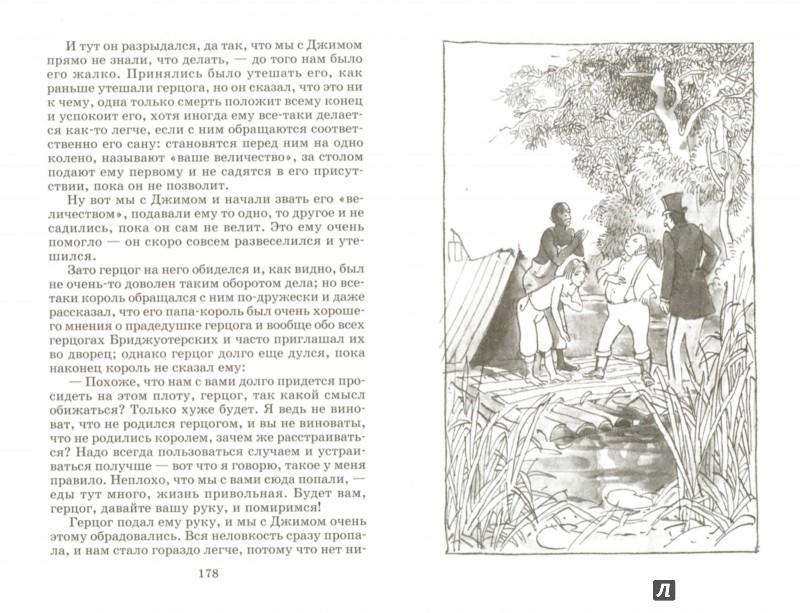 Иллюстрация 1 из 25 для Приключения Гекльберри Финна - Марк Твен | Лабиринт - книги. Источник: Лабиринт