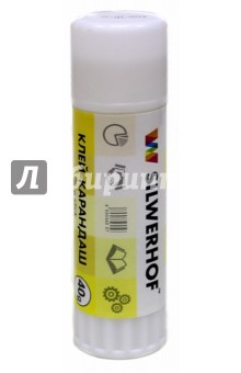 Клей-карандаш 40 грамм на PVP (436440) Silwerhof