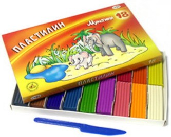 Иллюстрация 1 из 25 для Пластилин Мультики 18 цветов (280028) | Лабиринт - игрушки. Источник: Лабиринт