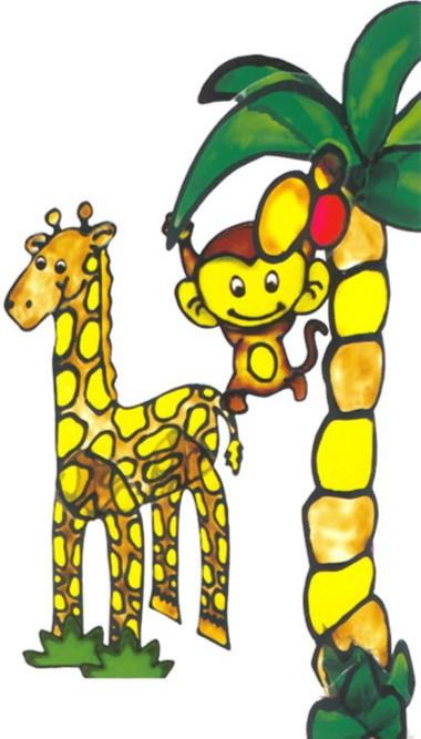 Иллюстрация 1 из 10 для Клей для витража 20 граммов 7 цветов Jungle (WPJP-20SE-7) | Лабиринт - игрушки. Источник: Лабиринт