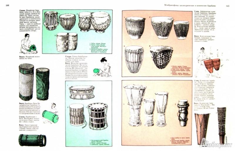 Иллюстрация 1 из 25 для Музыкальные инструменты мира | Лабиринт - книги. Источник: Лабиринт
