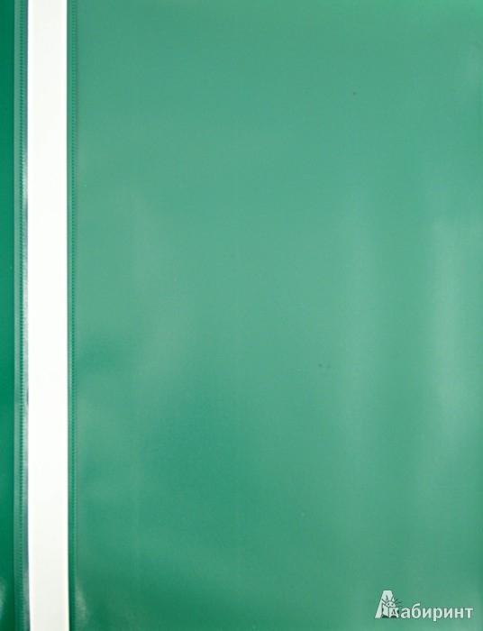 Иллюстрация 1 из 9 для Папка-скоросшиватель А4 зеленая | Лабиринт - канцтовы. Источник: Лабиринт