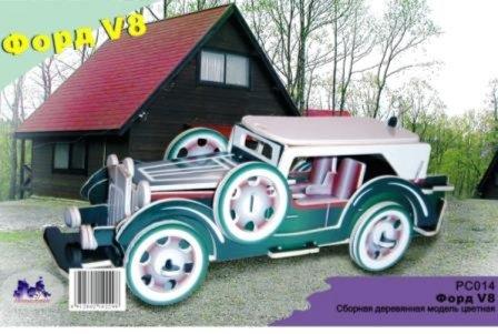 Иллюстрация 1 из 2 для Форд V8. Сборная модель (PC014) | Лабиринт - игрушки. Источник: Лабиринт