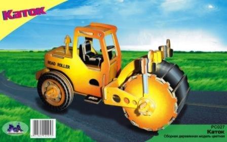 Иллюстрация 1 из 2 для Дорожный каток. Сборная модель | Лабиринт - игрушки. Источник: Лабиринт