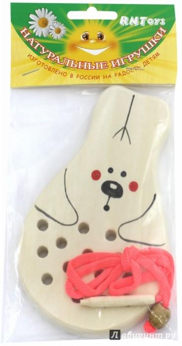 Иллюстрация 1 из 4 для Заяц-шнуровка (Ш-059) | Лабиринт - игрушки. Источник: Лабиринт