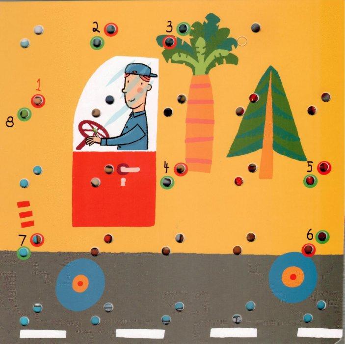 Иллюстрация 1 из 11 для Забавный шнурочек: Загадки о машинках | Лабиринт - книги. Источник: Лабиринт
